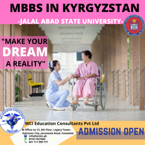 MBBS ADMISSIONS OPEN Jalal-Abad State University
