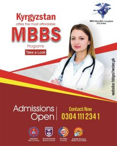 MBBS in Kyrgyzstan - PMDC approved Universities - Low tuition fee