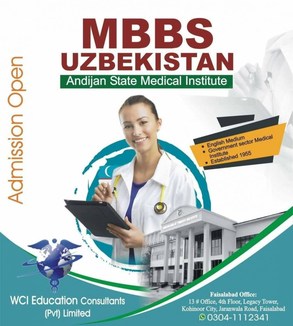 MBBS Admissions Open in Uzbekistan Andijan State Medical Institute